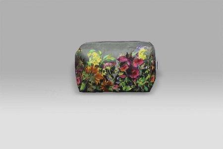 Trousse Indian Sunflower Graphite grande Designers Guild