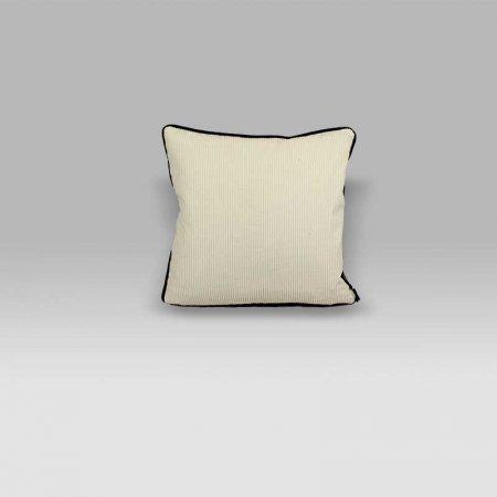 Cuscino Corda Chalk bianco-nero Designers Guild