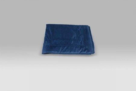Plaid trapuntato Velluto blu La Perla