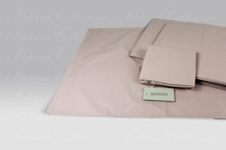 Completo Lenzuola Essential Percalle rosa Mastro Raphael