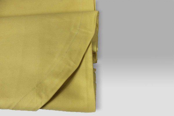 Copriletto in Piquet leggero a Nido Ape piccolo giallo singolo Mastro Raphael
