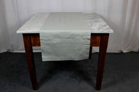 Runner Api Table Linens grigio scuro-ferro Mastro Raphael