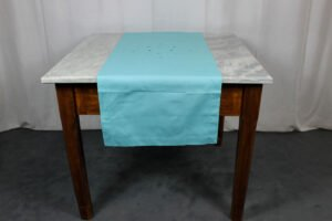 Runner Api Table Linens turchese Mastro Raphael