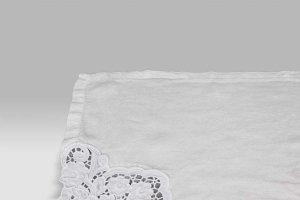 Tovaglietta Americana Toscana bianco vintage Opificio dei Sogni