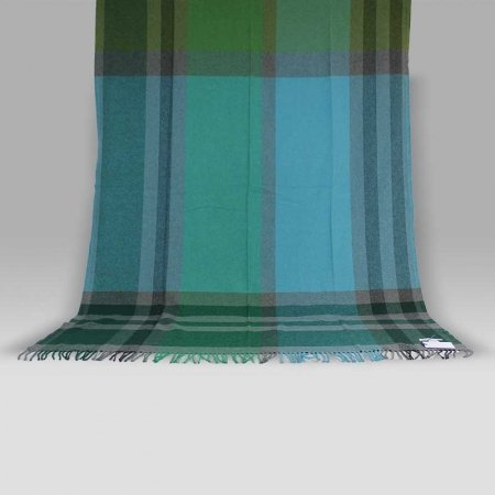 Plaid 130x190 Bampton Emerald Designers Guild