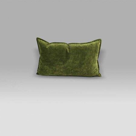Cuscino 50x30 Rivoli Moss verde militare Designers Guild