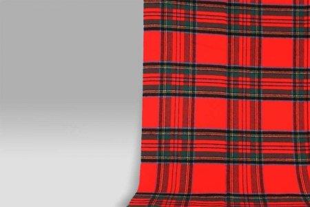 Plaid 135x180 Lambswool rosso Cecchi e Cecchi