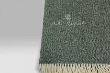 Plaid Pleasures Phil unito lana ricamato verde Mastro Raphael