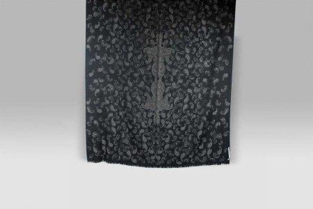 Plaid Shirley nero lurex Cecchi e Cecchi