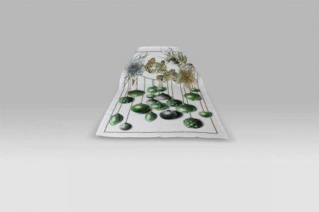 Canovaccio Glitter verde Tessitura Toscana Telerie