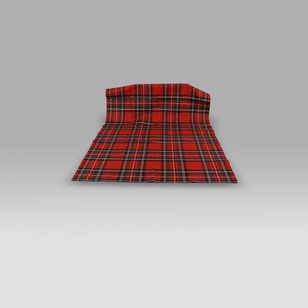 Canovaccio scozzese 335 rosso Bossi Casa