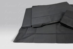 Completo Lenzuola BeB Bacchettina nero Mastro Raphael
