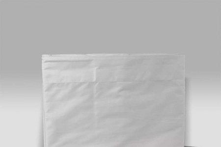 Completo Lenzuola Percalle bianco Micol