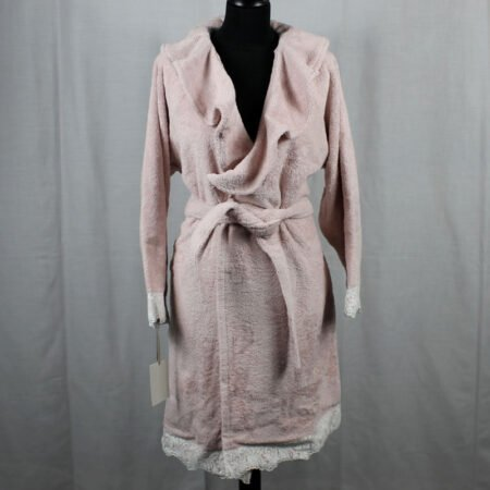 Accappatoio Vanitas rosa David Home Collection