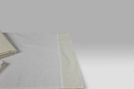 Completo Lenzuola Glam avorio chiaro-beige Dea
