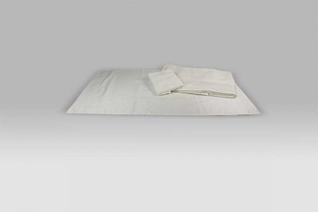 Completo Lenzuola Perlage latte David Home Collection