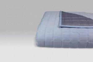 Quilt Double 7511 azzurro-blu Bossi
