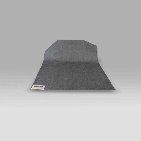 Canovaccio grigio scuro melange 1181 Bossi Casa