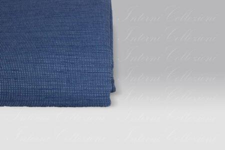 Copriletto Mali blu Tessitura Randi