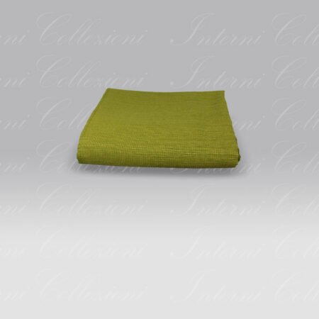 Copriletto Mali verde Tessitura Randi