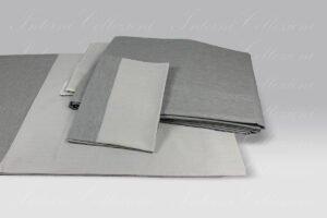 Completo Copripiumino Silver Shade grigio Dea
