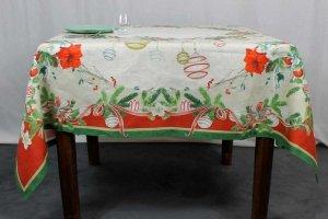 Tovaglia La Table Au Noel Tessitura Toscana Telerie