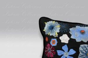 Cuscino Jardin des Hesperades multicolore Christian Lacroix