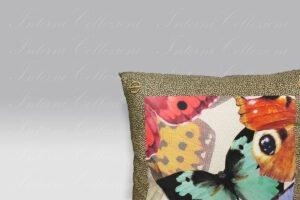 Cuscino Butterfly Borbonese