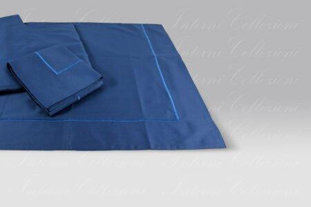 Completo Lenzuola BeB bacchettina blu Mastro Raphael