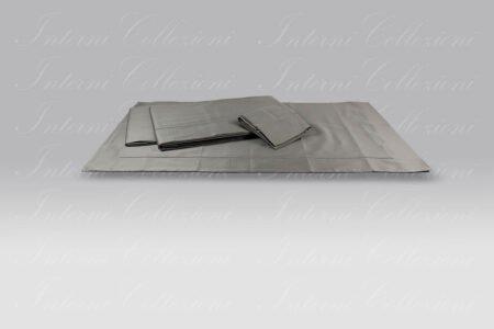 Completo Lenzuola BeB bacchettina grigio neutro Mastro Raphael