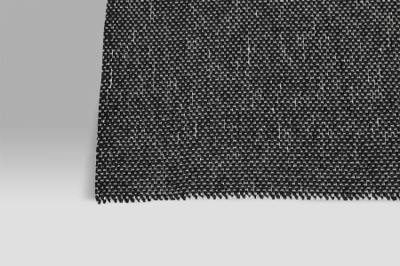Tappeto Guida da Cucina PVC Duetto bianco-nero Monfri Design Swedy