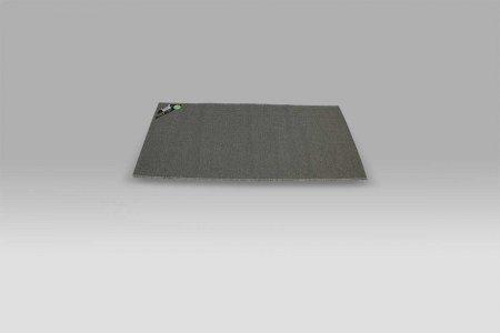 Tappeto Guida da Cucina PVC Duetto grigio Monfri Design Swedy