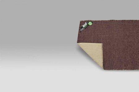 Tappeto Guida da Cucina PVC Duetto vinaccia-neutro Monfri Design Swedy