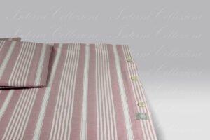 Completo Copripiumino Martin 8395 rosa Martha O Neil
