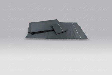 Completo Sacco BeB Bacchettina grigio antracite Mastro