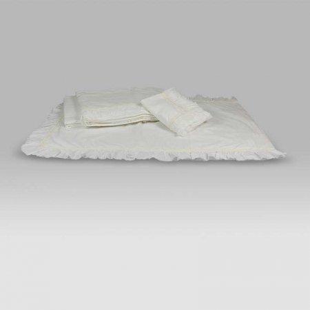 Completo Lenzuola Princesse bianco vintage Opificio dei Sogni