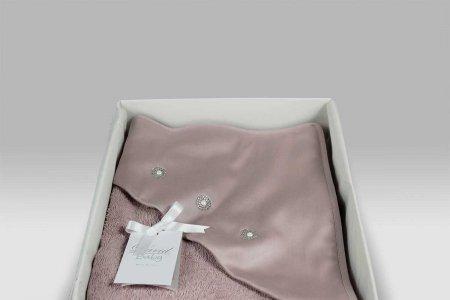 Accappatoio Triangolo Baby Principessa rosa David Home Collection Baby