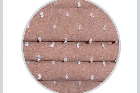 Mascherina Plumetis rosa Opificio dei Sogni