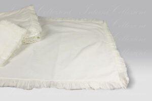 Parure Copripiumino Michelle bianco vintage Opificio dei Sogni