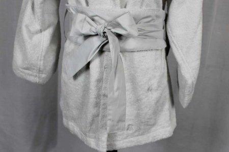 Accappatoio Api Bath linens Corto grigio Mastro Raphael