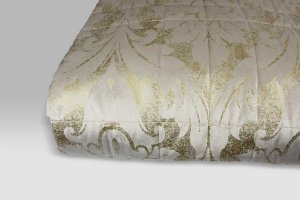 Quilt Fusion sabbia-oro David Home Collection