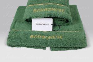 Coppia Spugna Fine Op verde Borbonese