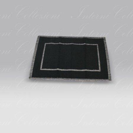 Tappeto Unito nero Mastro Raphael