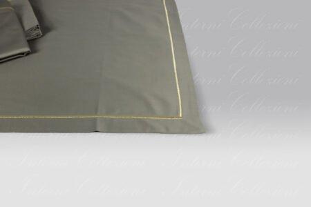 Completo Lenzuola F12 neutro bacchetta lurex oro Dea