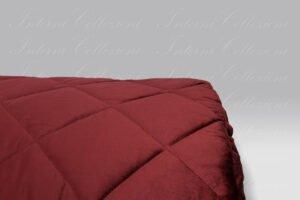 Quilt Velvet Bloom bordeaux Tessitura Randi