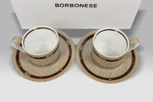 Porcellana Set Tazzine Belt Borbonese