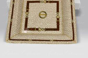 Porcellana Videpoche piccolo Belt Borbonese
